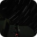 Startrail with mobilephone,                                Florian_Pieper