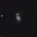 Messier 51, Whirlpool galaxy,                                Alexander Sorokin