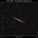 NGC 5907 - The Splinter Galaxy,                                Brice Blanc