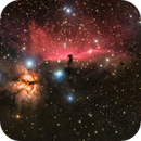 Horsehead and Flame Nebula,                                Ken Mitchell