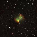M27: The Dumbbell Nebula,                    orangemaze