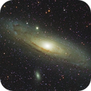 M31 LRGB with ASI183MM/Samyang 135,                                Ben