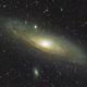 M31 LRGB with ASI183MM/Samyang 135,                                Ben