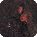 Large field, double cluster, soul and heart nebulae,                                  Philippe Renaud