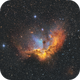 The Wizard Nebula (SHO),                                Chris Sullivan