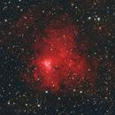 NGC 1491, The Burning Man Nebula,                                Madratter