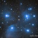 M45 Pleiades,                                Justin Daniel