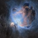 The Orion Nebula M42 - SHO & HOO,                                Wissam Ayoub