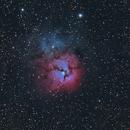 Trifid Nebula M20,                    Eric MAZALEYRAT