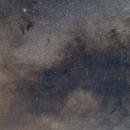 Milky Way near Aquila and Sagitta,                                Jari Saukkonen