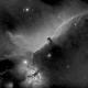 Horsehead Nebula, in Ha,                                Marcelof