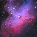 M16 Eagle Nebula,                                1074j