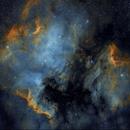 North America and Pelican Nebula,                                tomekfsx