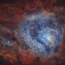 M8: The Lagoon Nebula,                                Toshiya Arai