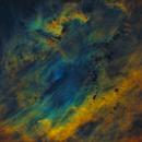 SH2-119 starless in SHO colors,                                Sven Hoffmann