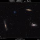 M65 M66 NGC3628 - Leo Triplet,                                Brice Blanc