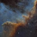 NGC 7000 - Great Wall close up,                                Jens Zippel