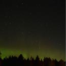 Northern Lights Over Mackinaw City,                                Will Niedbala