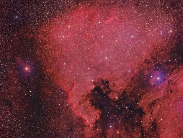 NGC7000 North America Nebula,                                Mark Eby