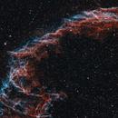 Eastern Veil Nebula Closeup in Bicolor,                                  Alex Roberts