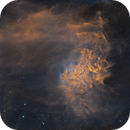 IC405 - Flaming Star Nebula / 2020,                                Mikko Viljamaa