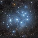 M45, Pleiades,                                Maurice Toet