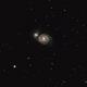 """M51 galaxy in the SCT 5"""",                                gabriel"""