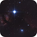 The horsehead and the flame nebula,                                Mattes