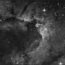 The Cave nebula Ha,                                  sky-watcher (johny)