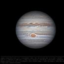 Jupiter 19 Apr 2018 14:41 UTC - North up,                    Seb Lukas