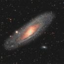 Andromeda Galaxy  , M110 , M32,                                AstroMarcin