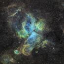 NGC 3372 SHO (Hubble-Palette),                                RolfW