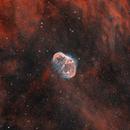 NGC 6888 - Crescent Nebula and Soap Bubble,                                Monkeybird747