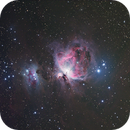 M42, first light with new CCD,                                Xplode