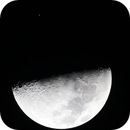 Moon and Saturn before Occultation,                                Chris Ryan