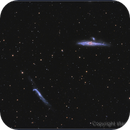 NGC4631 - Whale and Hockey Stick Galaxy,                                starhopper62