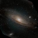 Andromeda Galaxy - M31,                                Travin