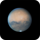 The rotation of Mars over 3 hours on October 1st 2020,                                Niall MacNeill