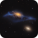 Markarian's Eyes - NGC 4438 and NGC 4435,                                Connor Matherne