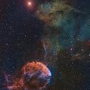 Jellyfish nebula and sh2-249,                                julianr