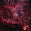 IC1805 Heart Nebula L-Pro,                                John Favalessa