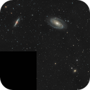 Galaxies M 81, M 82 and NGC 3077,                                Alessandro Biasia