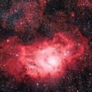 Lagoon Nebula, Messier 8 and neighbourhood,                                Björn Hoffmann