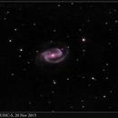 NGC 1300, UHC-S, 20 Nov 2015,                                David Dearden