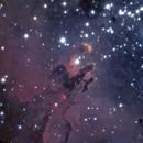 Eagle Nebula  1433 5 sec subs,                                TSquasar