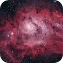 M8 The Lagoon Nebula,                                Jerry Huang