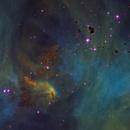 Running Chicken Nebula Core from Telescope Live,                                Mauricio Christiano de Souza