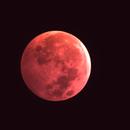 Blood Moon 1/20/2019 22:35:01MST,                                Steve Lantz