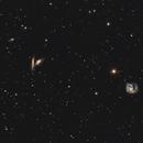 NGC 4302 / 4298 Wide field,                                Carles Zerbst