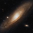 M31 Andromeda Galaxy 20201026 01.1.2,                                Allan Alaoui